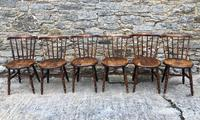 Set of 6 Antique Penny Chairs (3 of 11)