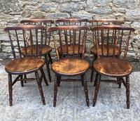 Set of 6 Antique Penny Chairs (2 of 11)