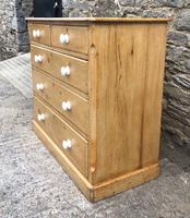 Victorian Pine Chest of Drawers (3 of 15)