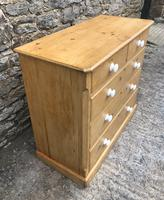 Victorian Pine Chest of Drawers (7 of 15)