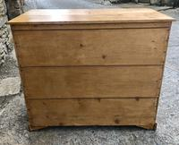 Victorian Pine Chest of Drawers (14 of 15)