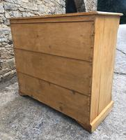 Victorian Pine Chest of Drawers (15 of 15)