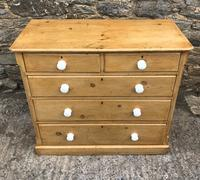 Victorian Pine Chest of Drawers (2 of 15)