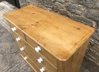 Victorian Pine Chest of Drawers (4 of 15)