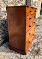 Large Victorian Mahogany Chest of Drawers (5 of 18)