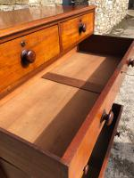 Large Victorian Mahogany Chest of Drawers (11 of 18)