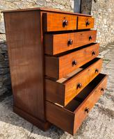 Large Victorian Mahogany Chest of Drawers (9 of 18)