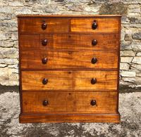 Large Victorian Mahogany Chest of Drawers (3 of 18)