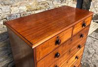 Large Victorian Mahogany Chest of Drawers (6 of 18)