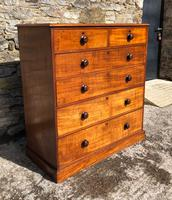 Large Victorian Mahogany Chest of Drawers (2 of 18)
