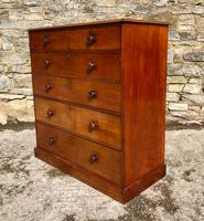 Large Victorian Mahogany Chest of Drawers (13 of 18)