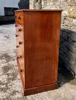 Large Victorian Mahogany Chest of Drawers (4 of 18)