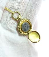 Georgian Pinchbeck Locket with Necklace (5 of 5)