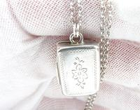 Sterling Vinaigrette with Silver Necklace (3 of 8)
