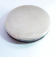 Guilloche Enamel Loose Powder Compact (6 of 8)