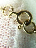 Victorian Garnet & Seed Pearl Pendant with Chain (6 of 8)