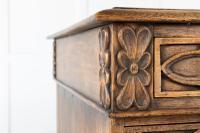 19th Century English Gothic Oak Desk (2 of 9)