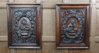 Fine Pair of 17th Century Walnut Panels