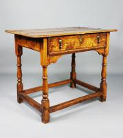 Fabulous Early 18th Century Country Side Table