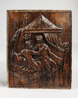 Pair of 16th Century Erotic Carved Oak Panels (2 of 4)
