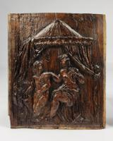 Pair of 16th Century Erotic Carved Oak Panels (3 of 4)
