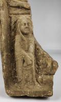 Medieval Romanesque Limestone Fragment (2 of 7)