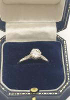 18ct Wg 1ct Solitaire Diamond (4 of 5)