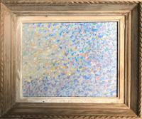 Original Oil on Board 'Skyscape, Chichester' by Ken Walch. 1927-2018