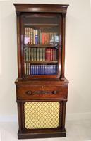 Gillows Lancaster Stamped Small Secretaire Bookcase