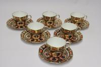 Fine Crown Derby Tea Set