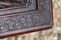 Superb Chinese Carved Hardwood Chest / Blanket Box (9 of 31)
