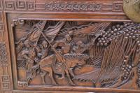 Superb Chinese Carved Hardwood Chest / Blanket Box (12 of 31)