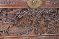Superb Chinese Carved Hardwood Chest / Blanket Box (13 of 31)