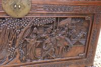 Superb Chinese Carved Hardwood Chest / Blanket Box (14 of 31)