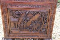 Superb Chinese Carved Hardwood Chest / Blanket Box (16 of 31)