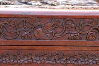 Superb Chinese Carved Hardwood Chest / Blanket Box (26 of 31)