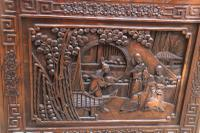 Superb Chinese Carved Hardwood Chest / Blanket Box (20 of 31)