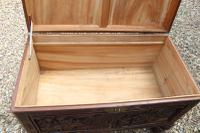 Superb Chinese Carved Hardwood Chest / Blanket Box (22 of 31)