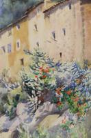 Charming Watercolour of a Corfu Scene by Edith E Caswall c.1920 (8 of 8)