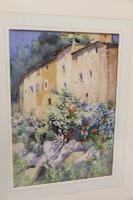 Charming Watercolour of a Corfu Scene by Edith E Caswall c.1920 (2 of 8)