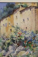 Charming Watercolour of a Corfu Scene by Edith E Caswall c.1920 (3 of 8)