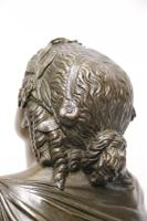 Superb Mid 19th Century French Classical Bronze of Euterpe by Pierre Alexander Schoenewerk (16 of 25)