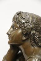 Superb Mid 19th Century French Classical Bronze of Euterpe by Pierre Alexander Schoenewerk (14 of 25)