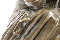 Superb Mid 19th Century French Classical Bronze of Euterpe by Pierre Alexander Schoenewerk (13 of 25)