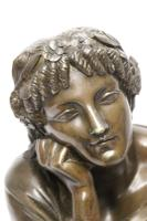 Superb Mid 19th Century French Classical Bronze of Euterpe by Pierre Alexander Schoenewerk (11 of 25)