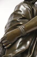Superb Mid 19th Century French Classical Bronze of Euterpe by Pierre Alexander Schoenewerk (25 of 25)