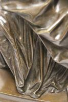 Superb Mid 19th Century French Classical Bronze of Euterpe by Pierre Alexander Schoenewerk (22 of 25)