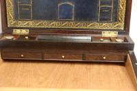Superb 19th Century Gentleman's Brass Mounted Campaign Writing Box (13 of 29)