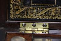 Superb 19th Century Gentleman's Brass Mounted Campaign Writing Box (9 of 29)