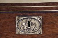 Superb 19th Century Gentleman's Brass Mounted Campaign Writing Box (29 of 29)